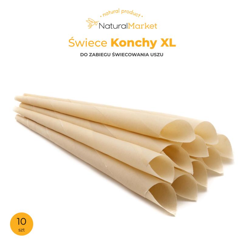 Konchy XL - 28 cm. / 8 szt. 1